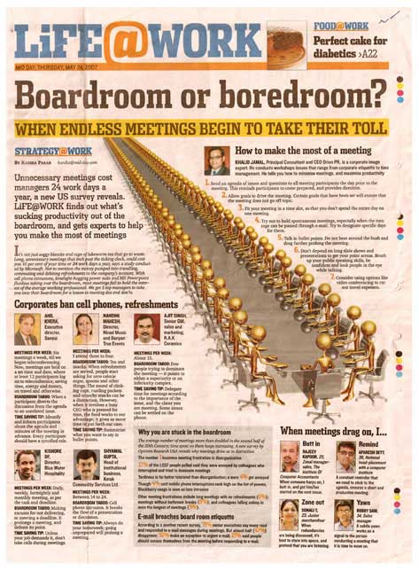 Boardroom or boredroom?